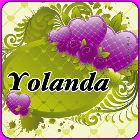 Tarjetas De Feliz Cumpleanos Yolanda