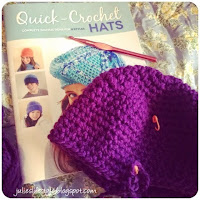 crochet hat @ Julie's Creative Lifestyle