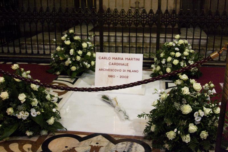 накануне нашего приезда в Милане вспоминали кардинала Мартини