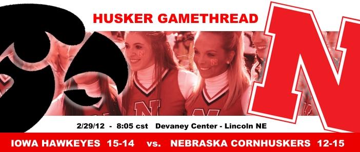 Husker Gamethread Iowa At Nebraska Interview With Bhgp