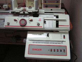 Machine Knitting etc