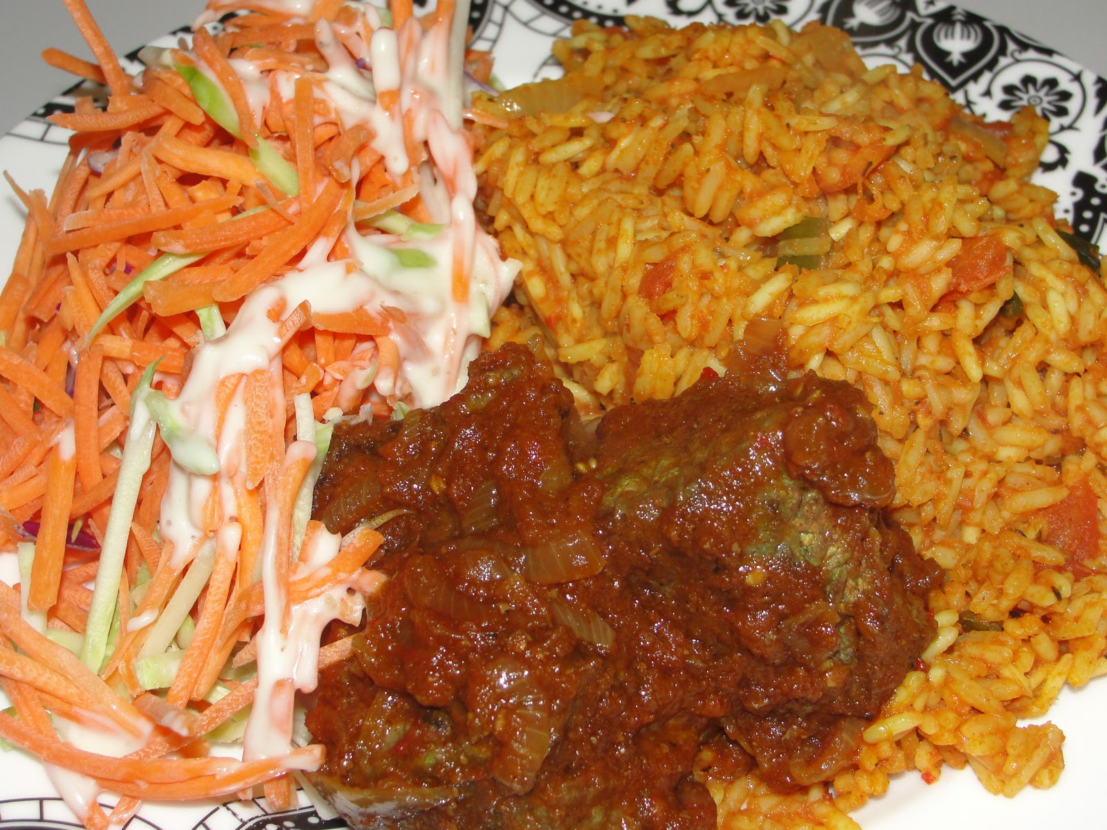 Modern african cuisine jollof rice for African cuisine dishes