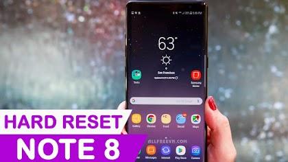 Cách Hard Reset Samsung Galaxy Note 8
