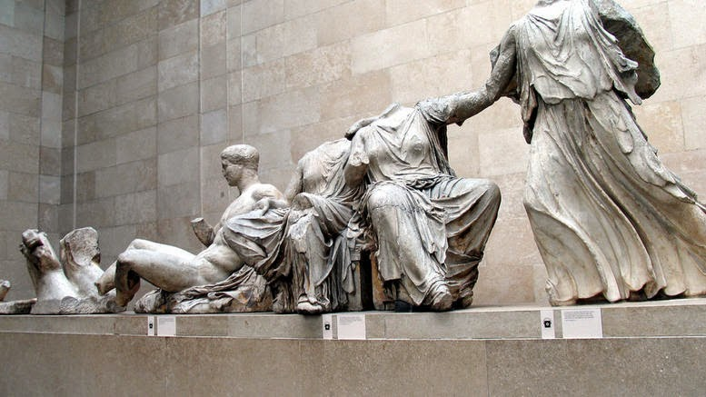 "More Stuff: British Museum director says ""No"" to return of Parthenon Sculptures"