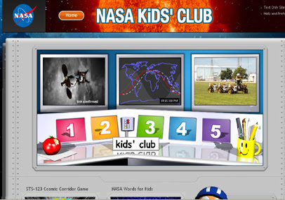 nasa gov kid