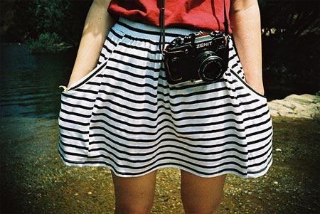 Inspiração listras em preto e branco (black and white stripes)