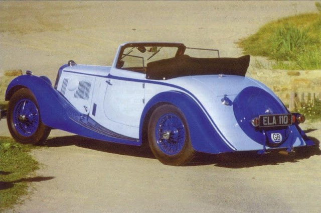Aston Martin 15/98 Drop Head Coupe, 1937 г.