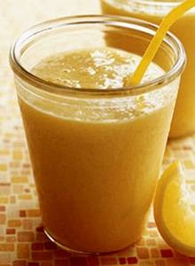 Yellow Smoothie Mangga Nanas Jeruk