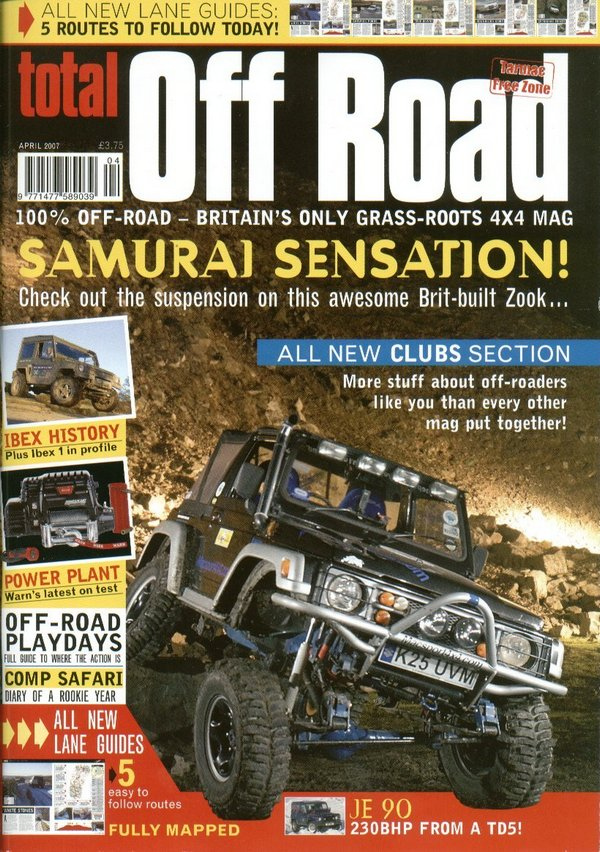 suzukijeepinfo off road magazine 2007. Black Bedroom Furniture Sets. Home Design Ideas