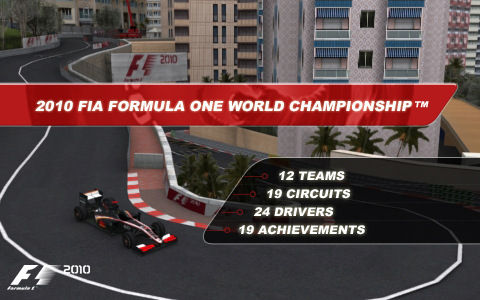 f1 2010, codemaster, ios , ios apps, FIA, formula 1