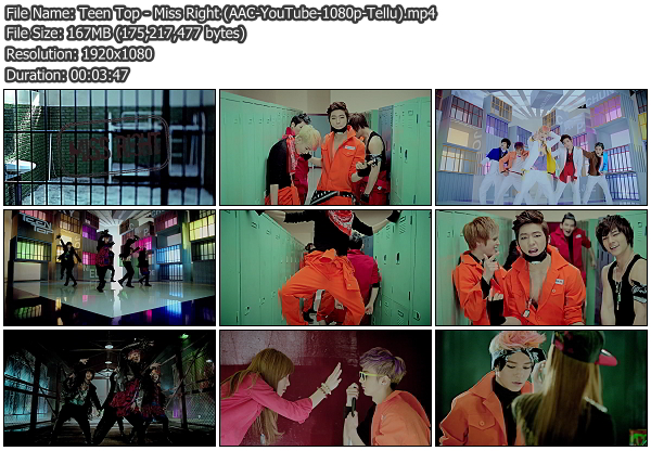 [MV] Teen Top   Miss Right (YouTube HD 1080p)