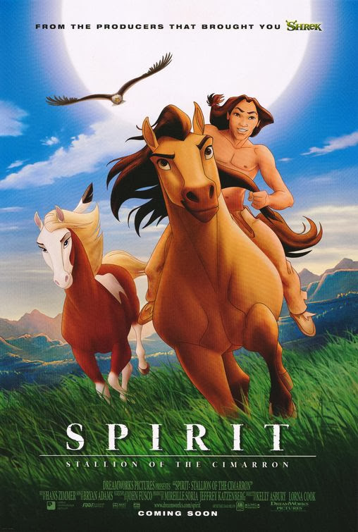 Poster Of Spirit: Stallion of the Cimarron (2002) Full Movie Hindi Dubbed Free Download Watch Online At Alldownloads4u.Com