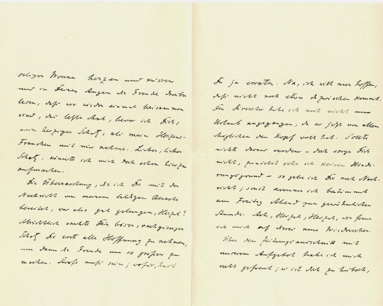 Briefe Schreiben Hochzeit : Yassirkratzt eine ganz große liebe