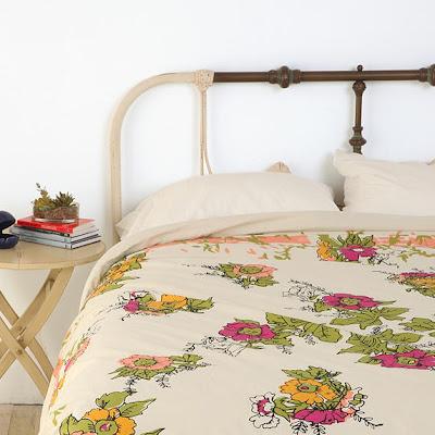 Vintage Floral Bedding Single