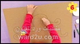 عمل اخطبوط بالكرتون للاطفال
