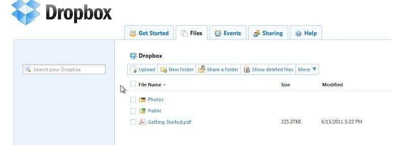 dropbox file DropBox Sync, Plugin Yang Sangat Dahsyat