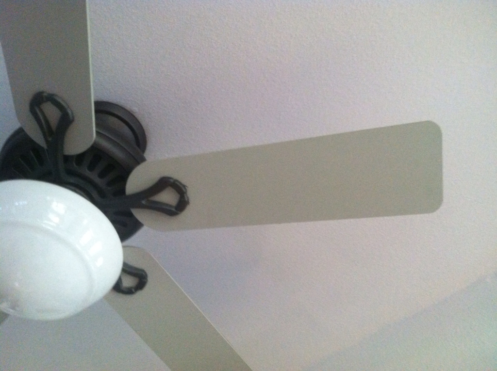 Paint Ceiling Fan : Fresh redesign you can paint your ceiling fan blades
