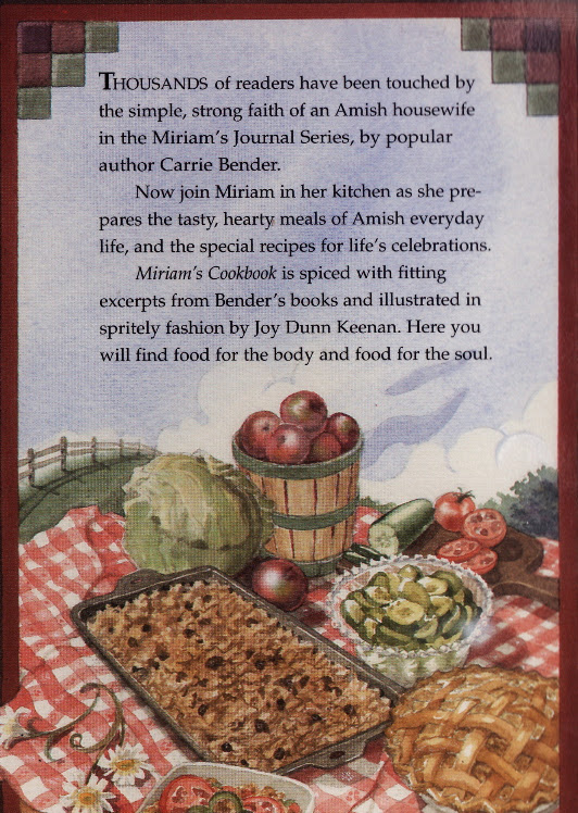 Mirian's Cookbook by Carrie Bender