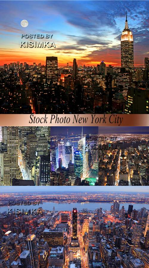 Stock Photo New York City