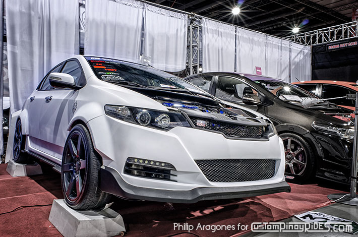Honda City GM Body Kit Styling Options Custom Pinoy Rides Atoy Customs TK White