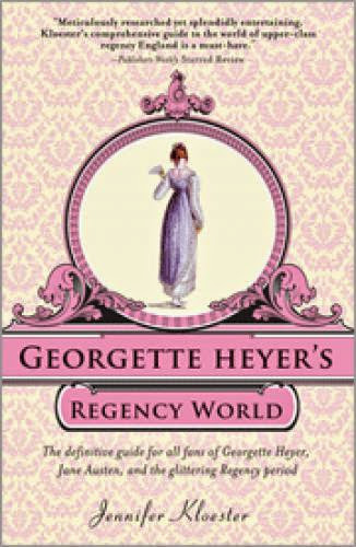 Book Review Georgette Heyer Regency World