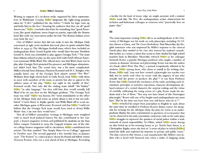 a report on the crucible by arthur miller Miller, arthur the crucible viking press, 1953 arthur miller was born on october 17, 1915, in new york city miller works in a warehouse after graduating from high school, and when he saved enough money, he began attending the university of michigan.