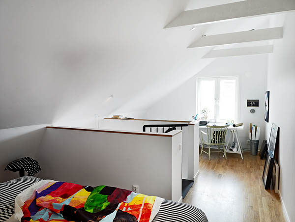 Един очарователен и стилен апартамент на две нива