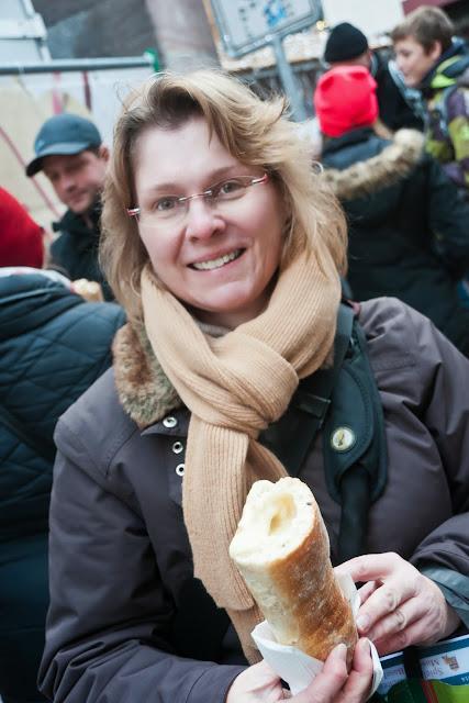 Chäsbengel: Käsefondue im Baguette