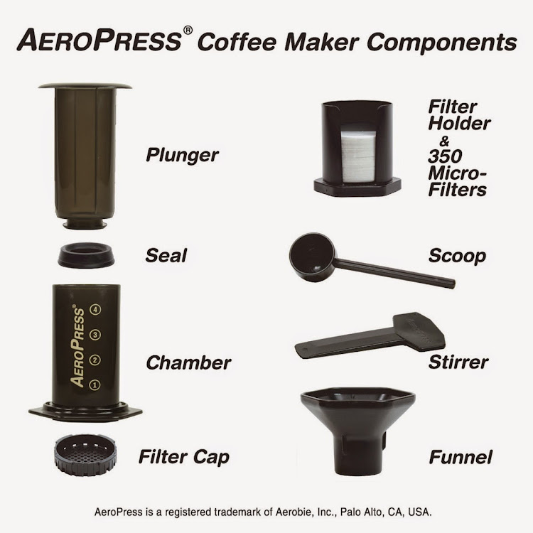 Aeropress Coffee Espresso Maker Instructions : Aerobie Aeropress Coffee and Espresso Maker Lazada Malaysia