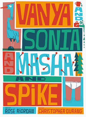 Vanya and Sonya and Masha and Spike  Art by Julia McNamara