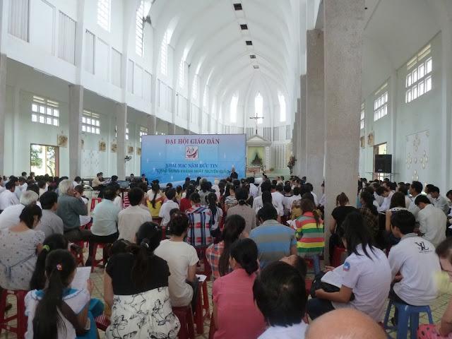Đại Hội giáo dân giáo xứ Quảng Ngãi