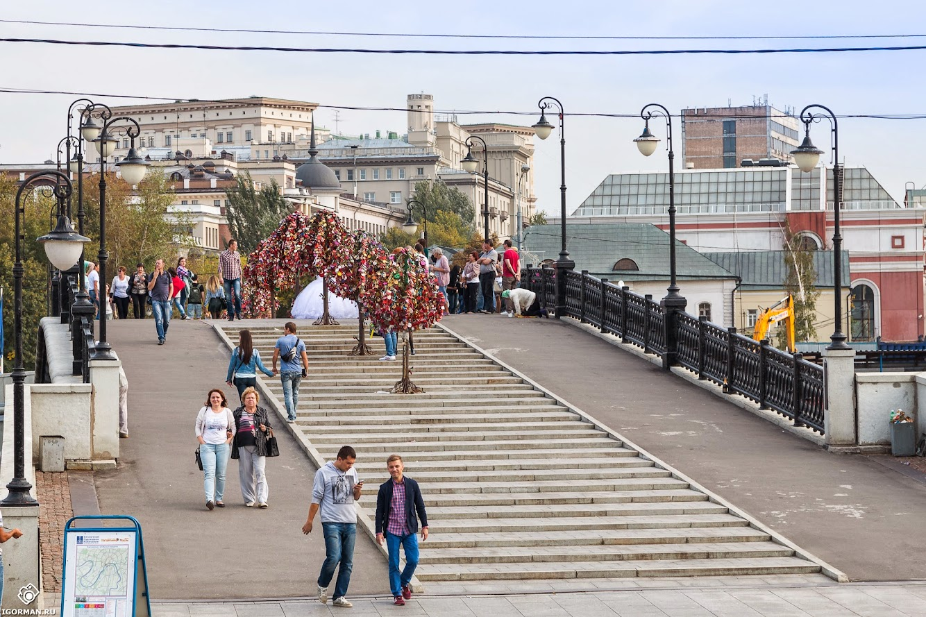 Фотосессия - Лужков мост, Москва