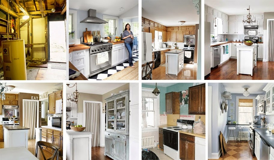 17 kreative vorher nachher küchenumbauten