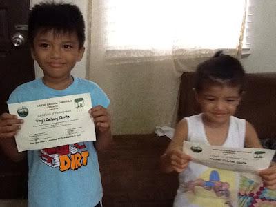 Eco kids certificate