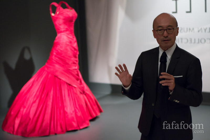 Harold Koda, Curator in Charge, The Costume Institute at The Metropolitan Museum of Art.