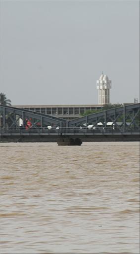 Puente Faidherbe sobre el río Senegal
