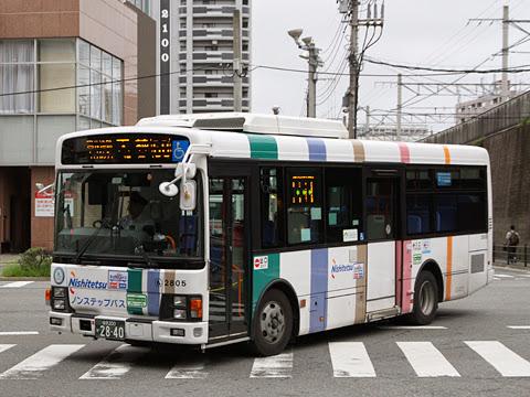 西日本鉄道 百道浜 2805