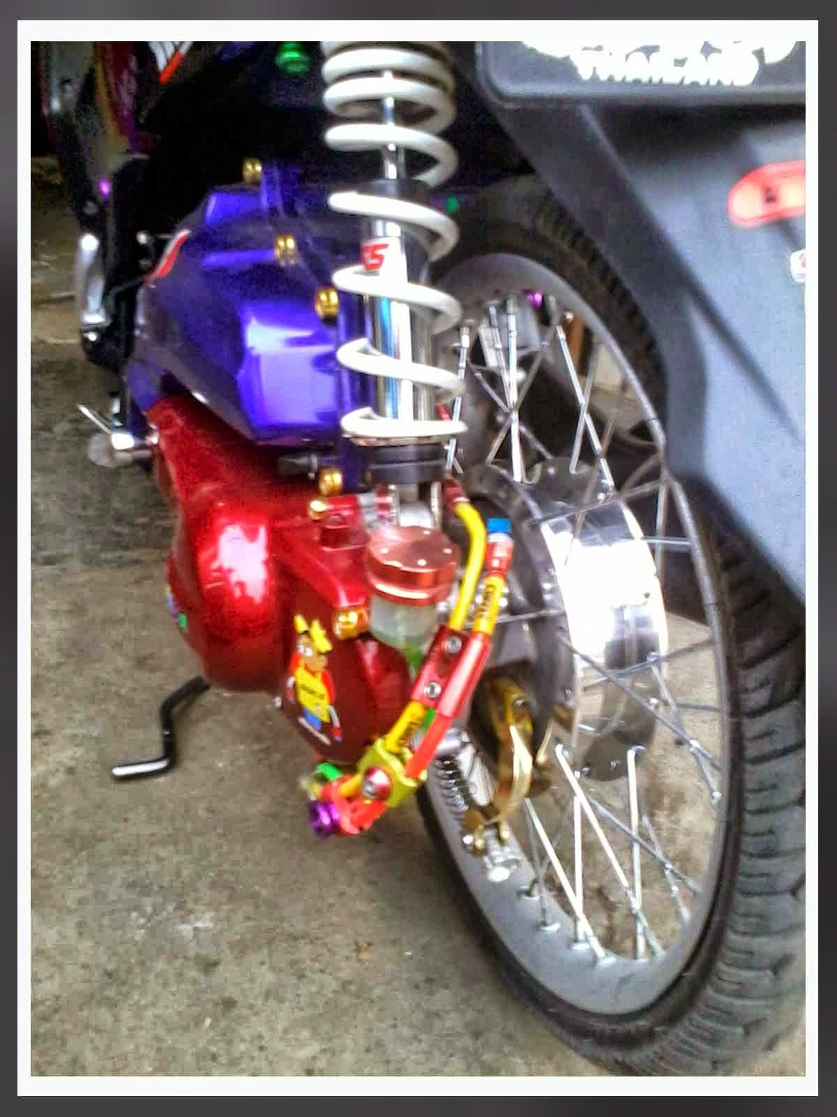 Modif Yamaha Mio Thailand