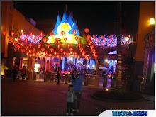 麗寶樂園春節夜色