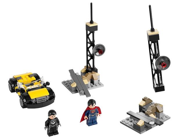 76002 レゴ スーパーヒーローズ スーパーマン メトロポリス・ショーダウン