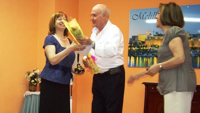II Premio de Poesía 2011 a Isabel Oliver González en la Casa de Melilla
