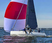 J/88 family friendly speedster- sailing on Chesapeake Bay