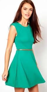 Fotos de vestidos verde agua cortos