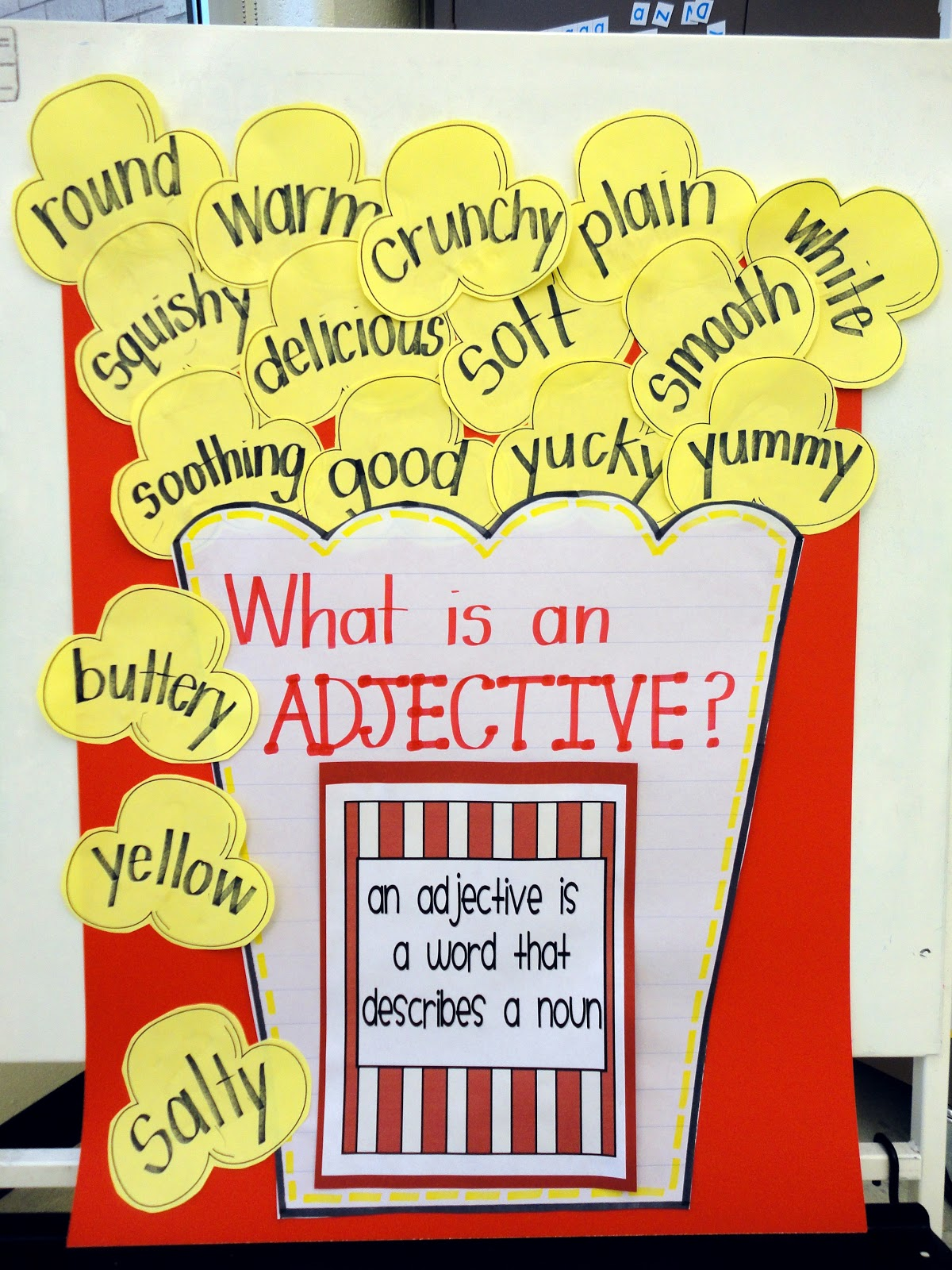 the adjective The adjective questions to ask for the adjective: does this sound right is this the way we talk does this make sense materials - the farm - grammar symbols.