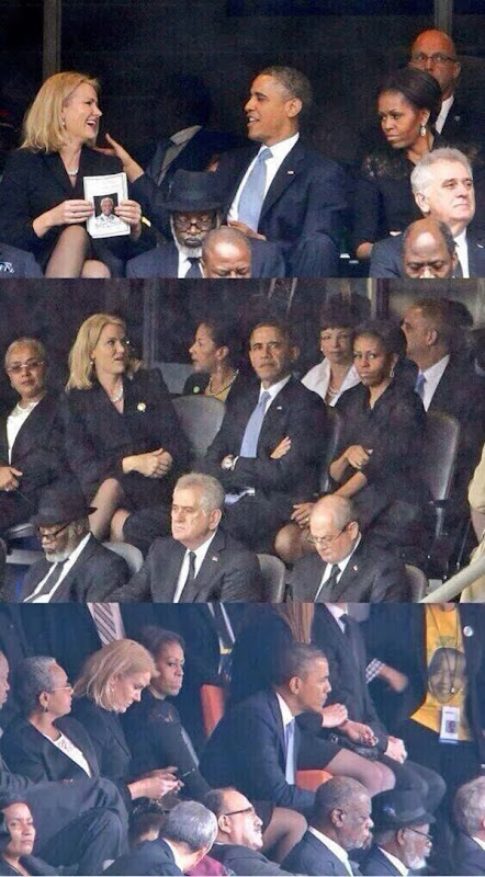 Selfie President Barack Obama
