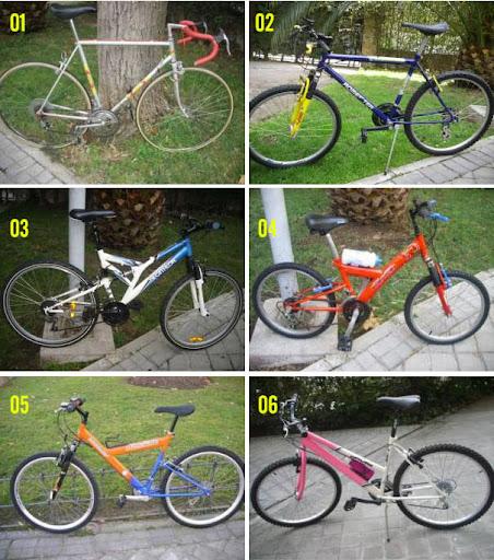 ¿Reconoces alguna bici? Escríbenos