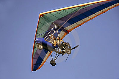 motorised hang glider