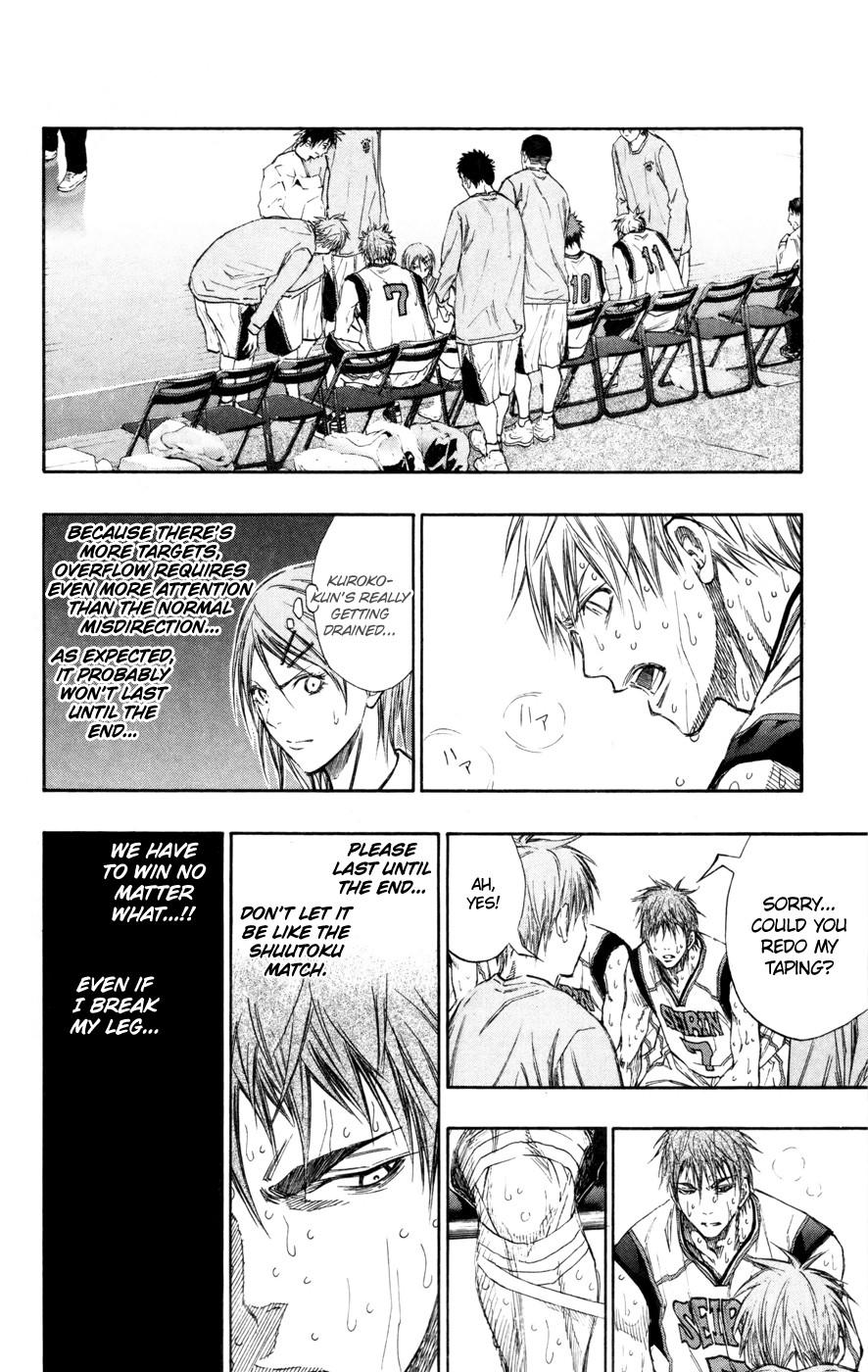Kuroko no Basket Manga Chapter 130 - Image 07
