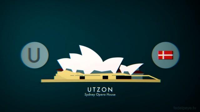 *ABC建築師 A~Z 26個英文字母創意動畫:介紹世界各國特色建築的趣味短片! 5