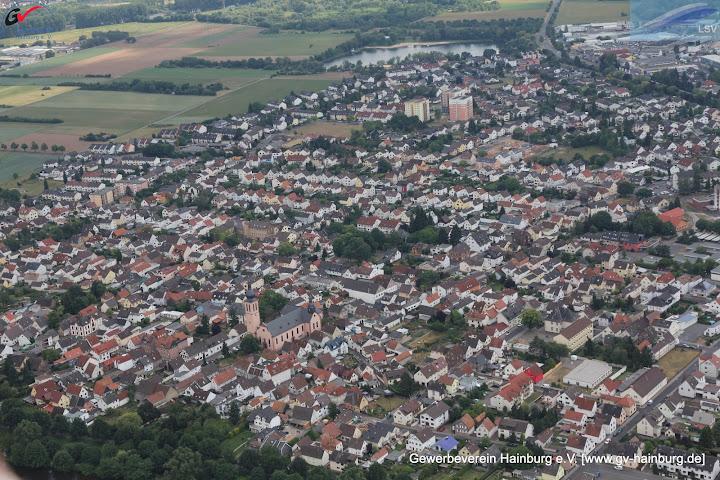 Klein Krotzenburg - Blick avom Main auf die Kirche | Tobias Kemmerer